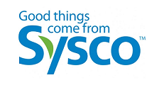 "Sysco logo that says ""Good Things come from Sysco"""