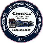 "Diversified Automotive logo with the words ""Processing Transportation Marine Fueling Rail"""
