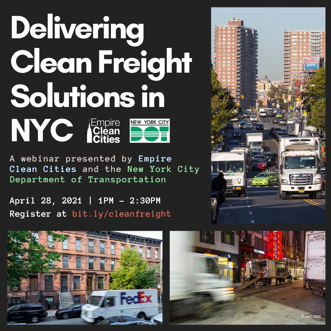 Image that details the Freight/ECC webinar on April 28th, 2021